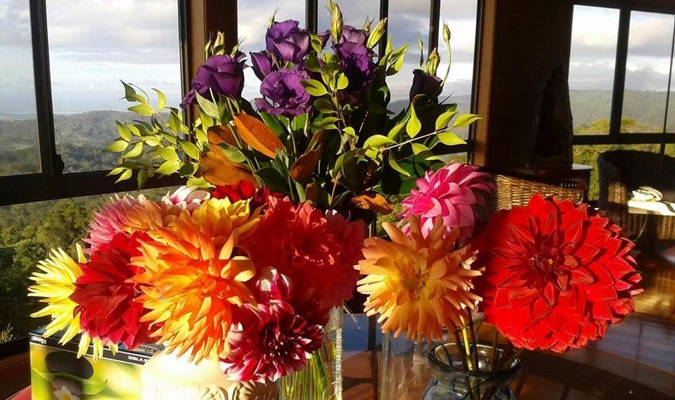 Savour World Cuisine Retreat Flowers