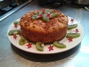 Retreat catering dessert dish